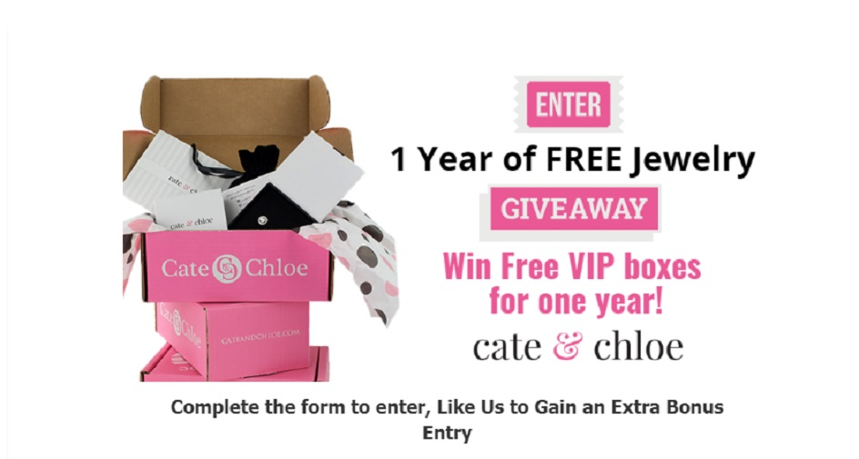 CATE & CHLOE FREE JEWELRY GIVEAWAY